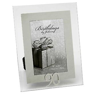 Impressions By Juliana 90th Birthday Glass And Mirror 4 X 6 Photo Frame