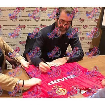 Manchester United Cantona Signed Hemd