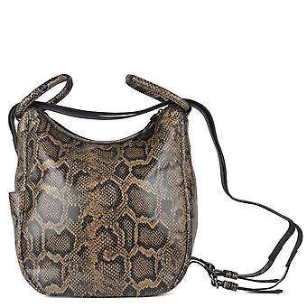 Ash BETTY BRACELET Backpack Python Print Leather