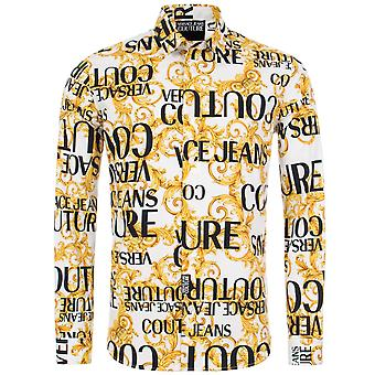 Versace Jeans Couture Slim Fit All Over Print Shirt
