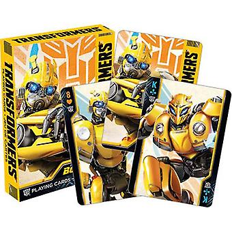 Transformers - bumblebee playing cards