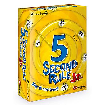 5 Second Rule Junior Card Game
