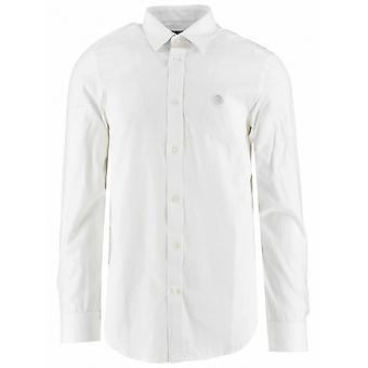 Diesel Diesel White Logo Slim Fit Shirt