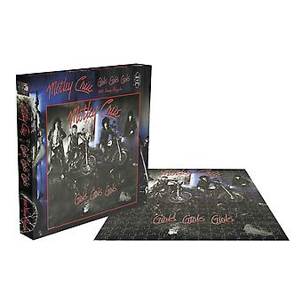 Motley Crue Jigsaw Puzzle Girls Girls Girls Album Cover new Official 500 Piece