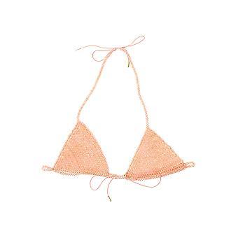 Alanui Lwae004s20mat0026161 Naiset's Nude Nylon Top