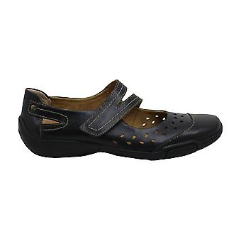 ARRAY Womens Breeze Leather Closed Toe Mary Jane Flats