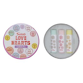Lip Smacker Swizzels Love Heart Tin - 3 balms
