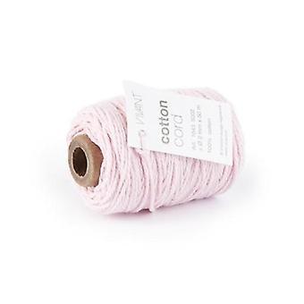 Vivant Cord Cotton fine rose - 50m x 2mm