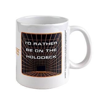 Star Trek, Mug - Rather Be On the Holodeck