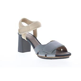 Camper Myriam  Womens Blue Leather Heels Strap Pumps Shoes