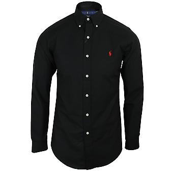Ralph lauren men's black poplin shirt