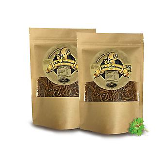 100 g eetbare meelwormen voor menselijke consumptie