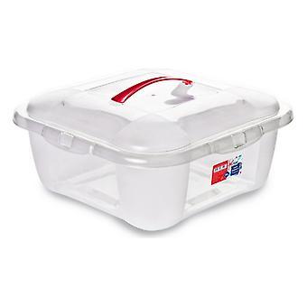 Úložná škatuľa s vrchnákom Confortime 15 L