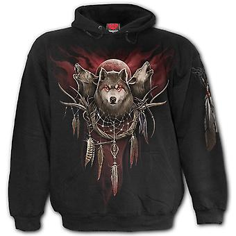 Spiral Cry Of The Wolf Hoodie