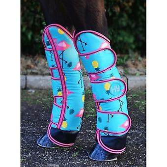 Hy Flamingo Horse Travel Boots