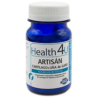 Health 4U Artisán Cartilage + Cat's Claw 45 Capsules of 500 mg