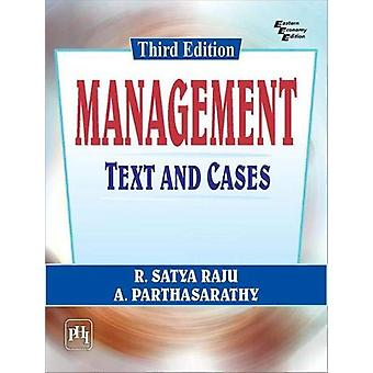 Management - Text and Cases by R. Satya Raju - 9789388028042 Book