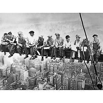 Maxi Poster - Lunch on a Skyscraper