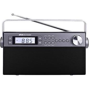 Silva Schneider M 301 PLL Escritorio radio FM Negro