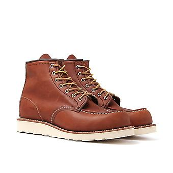 Red Wing 875 Classic 6-quot; Moc Oro Legacy Leather Boots