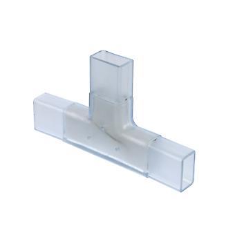 Jandei Neon LED connector transparante T neon led flexibele 1 en 2 zijden