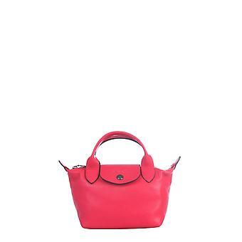 Longchamp 1500757545 Women's Red Leather Shoulder Bag