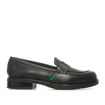 Naisten & s Kickers Lach Loafer Kengät Musta