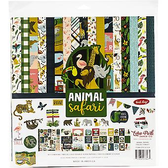 Echo Park Animal Safari 12x12 Inch Collection Kit