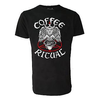 Darkside - coffee ritual - mens t-shirt