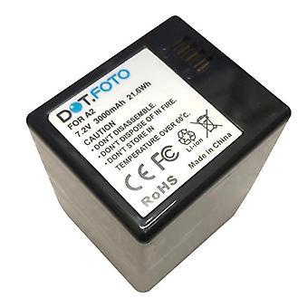 Dot.Foto A2 (VMA4410) PREMIUM 7.2v / 3000mAh batteria ricaricabile per Arlo Go (VML4030) Netgear Arlo Telecamera di sicurezza wireless Netgear Arlo