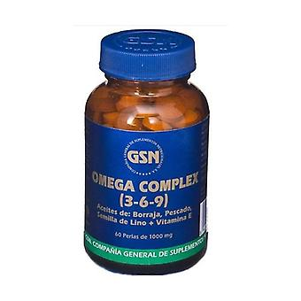 Omega Complex (3,6,9) 60 softgels