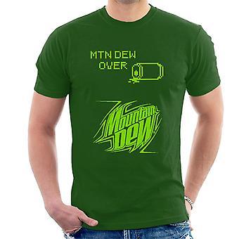 Mountain Dew retro arcade teema miesten ' s T-paita