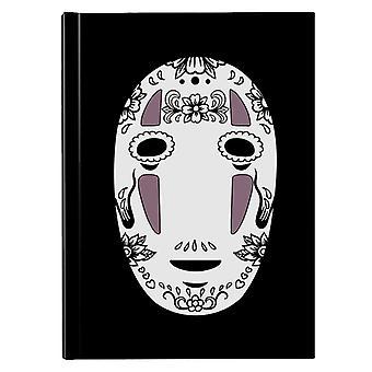 No Face Sugar Skull Studio Ghibli Spirited Away Hardback Journal