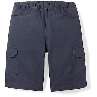 Brand - Spotted Zebra Boys' Big Kid Cargo Shorts, Navy, Large (10)