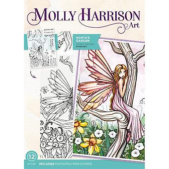 Crafter's Companion Photopolymer Stamps By Molly Harrison - Martais Garden