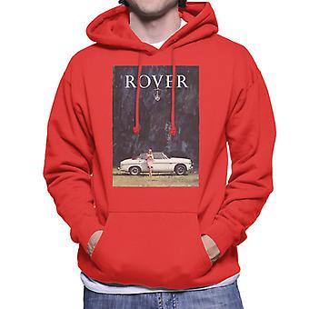 Rover Poster Design British Motor Heritage Men's Hooded Sweatshirt