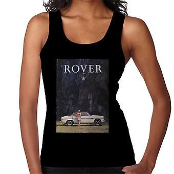Rover Poster Design British Motor Heritage Women's Vest
