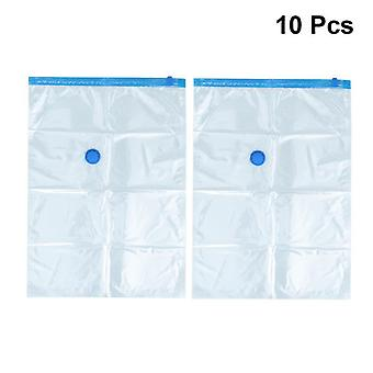 Saving Space Compress Bag With Vacuum Seal - Transparent Storage For Clothes,