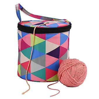 Knitting Wool Yarn, Crochet, Sewing Needle, Weaving Tool Tote Storage Bag