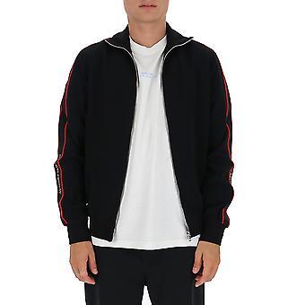 Alexander Mcqueen 625377qpr381000 Men's Black Viscose Sweatshirt