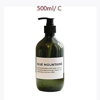 Soap Dispenser Cosmetics Bottles Bathroom Hand Sanitizer Shampoo Body Wash Lotion Bottle Outdoor Travel Sub Bottle