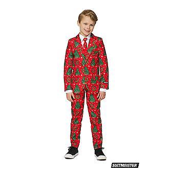 Kerst kerst Kinder pak pak Suitmaster Slimline Premium 3-delige