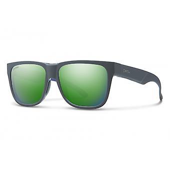 نظارات شمسية Unisex Lowdown 2 مات رمادي / أخضر