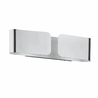 Ideal Lux Clip - 2 Leichte Innen-Große Wandleuchte Chrom, E27