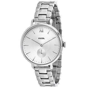 Hombres fósiles's Kayla Silver Dial Watch - ES4666