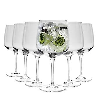 Bormioli Rocco Premium Gin and Tonic Cocktail Balloon Glasses Set - 755ml - Pack of 6