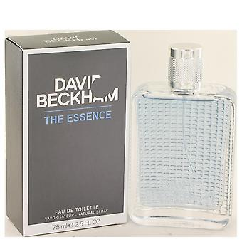 David beckham essence eau de toilette spray by david beckham 75 ml