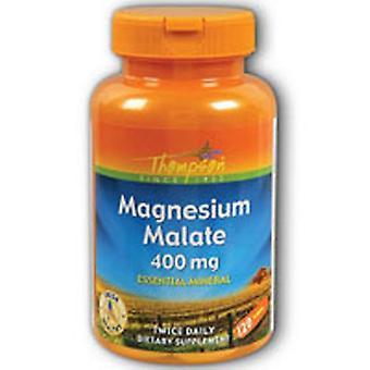 Thompson Magnesium Malate, 400 mg, Malate, 120 Tab