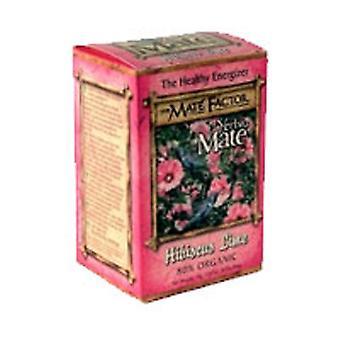 The Mate Factor Hibiscus Lime Tea, 20 Bag
