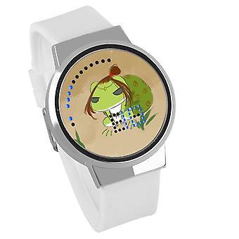 Waterproof Luminous LED Digital Touch Children watch - Travel frog #61